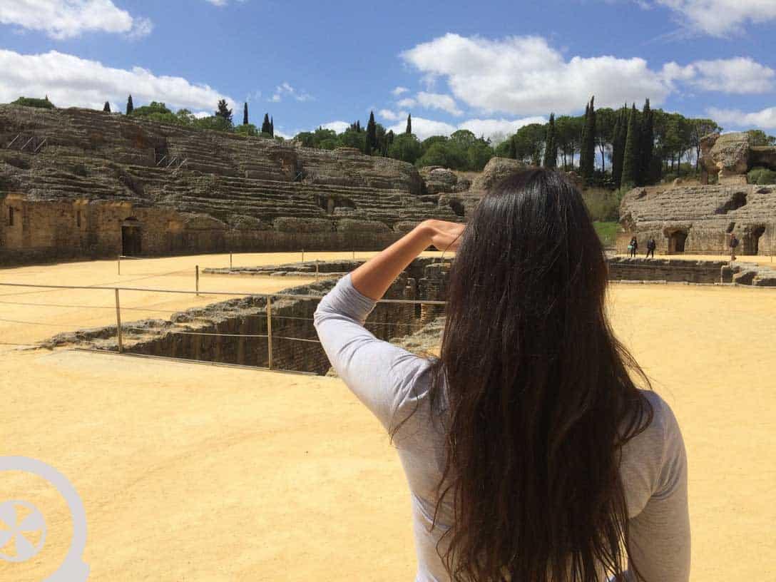 seville italica tour amphitheater