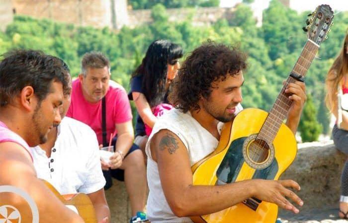 flamenco mirador san nicolás excursión sevilla granada