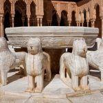 fuente leones alhambra excursión sevilla granada