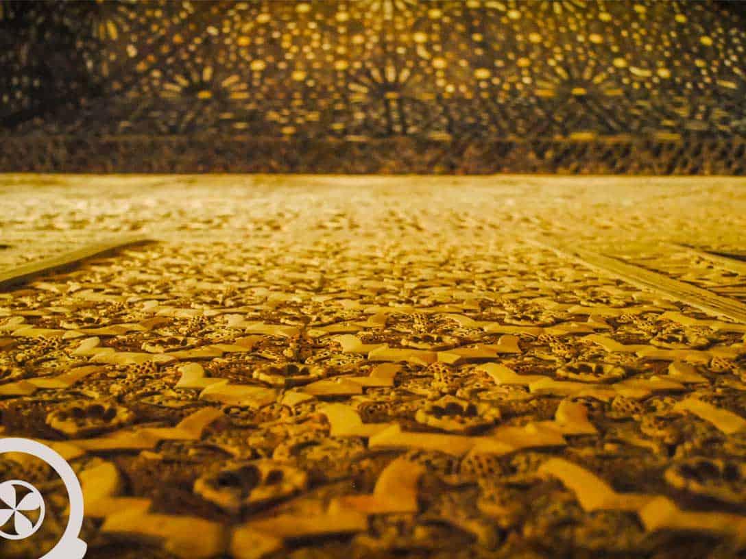 pared alhambra granada excursión a granada desde sevilla